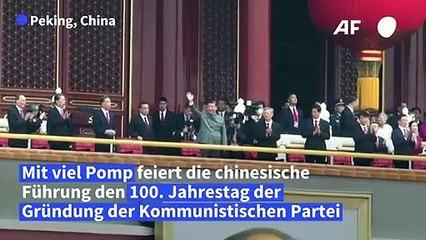 Chinesische Führung feiert 100 Jahre Kommunistische Partei