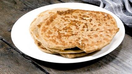 Cheesy Paratha