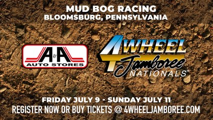 Mud Bog Racing is back at the A&A Auto Stores 4-Wheel Jamboree