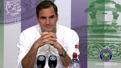 """Wimbledon 2021 - Roger Federer a passé le 2e tour de Wim en surclassant Richard Gasquet : """"Les temps ont changé.... """""""
