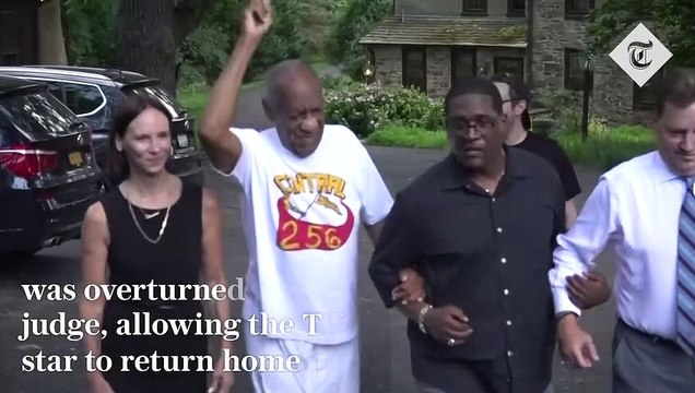 Bill Cosby walks free from prison after conviction is overturned