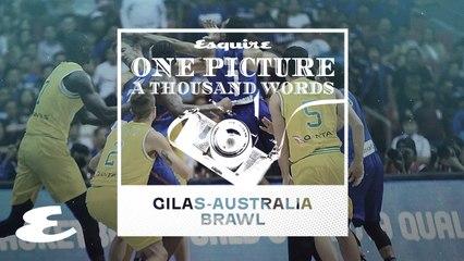 One Picture, A Thousand Words: Gilas Pilipinas-Australia Brawl