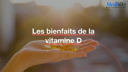 Les bienfaits de la vitamine D
