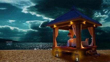 Gazebo on the beachside | Happiness