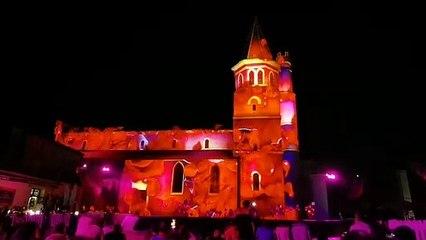 Illuminations estivales Béziers  2021