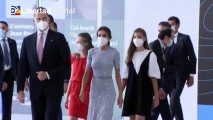La Familia Real al completo vuelve a Barcelona para la entrega de los Premios Princesa de Gerona