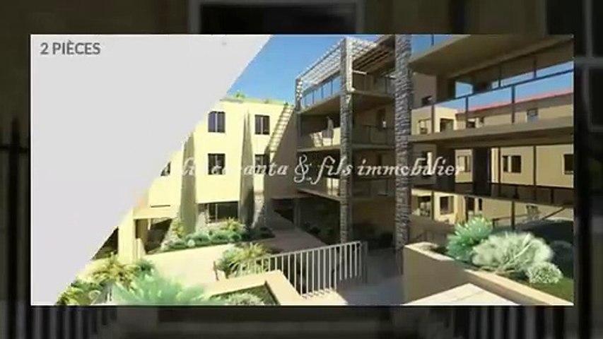 Vente appartement T2 résidence neuve Les Issambres avec jard