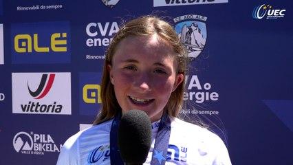 #EuroMTBYouth21 | Paulina Weigelt interview