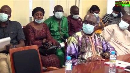 Le ministre Dr Rémy Lamah fait le diagnostic de la santé en Guinée