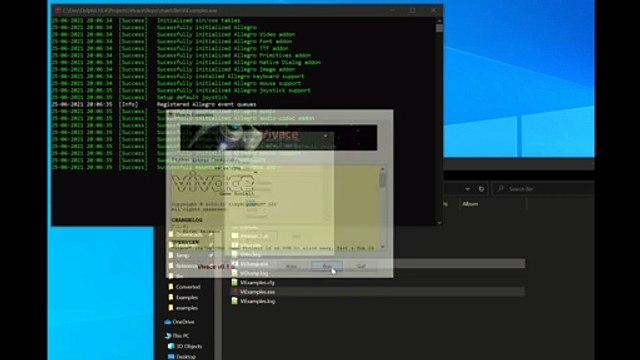 Vivace Game Toolkit - Immediate Mode GUI Examples