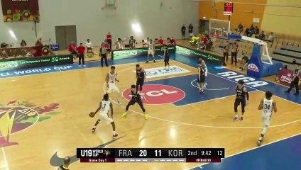 Mondial U19 : les highlights de Victor Wembanyama face à la Corée