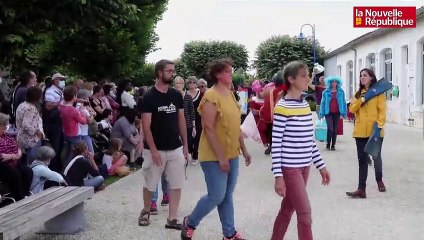 VIDEO. Festival de Brioux - Flash mob Panique olympique