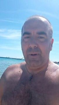 Ανεμοστρόβιλος στην παραλία των Μουδανιών!!!