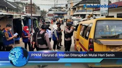 PPKM Darurat Akan Diberlakukan di Kota Medan Mulai 12 Juli 2021