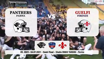 Panthers - Guelfi 55-20, gli highligths della semifinale