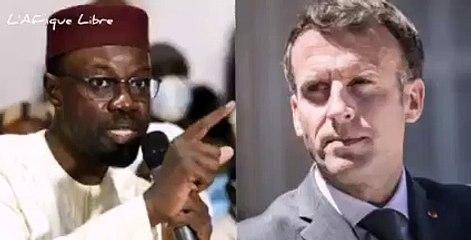 Il est temps que la France nous foute la paix (Ousmane Sonko)