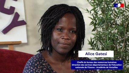 Concours des IRA : témoignages d'anciens élèves (Alice Gatesi)