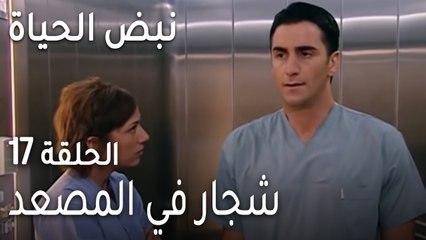 نبض الحياة الحلقة 17 - شجار في المصعد