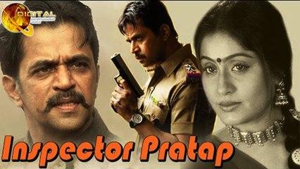 Inspector Pratap | Full Hindi Dubbed Action Movie | Arjun Sarja | Malashree