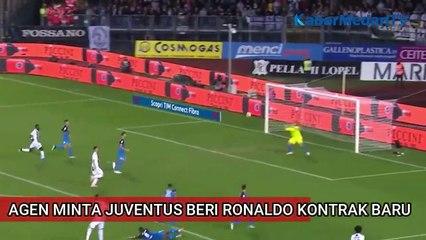 Agen Minta Juventus Beri Ronaldo Kontrak Baru