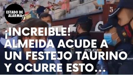 ¡INCREIBLE! José Luis Martínez-Almeida acude a una corrida de toros en Las Ventas y ocurre esto…