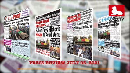 CAMEROONIAN PRESS REVIEW OF JULY 05, 2021
