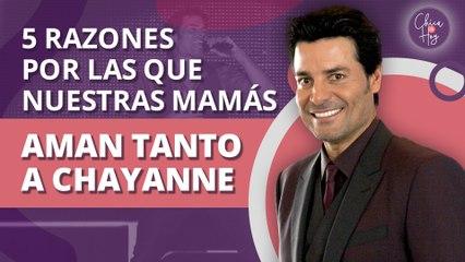 5 razones por las que nuestras mamás aman más a Chayanne que a sus hijos   5 reasons our moms love Chayanne more than their kids