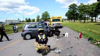 Accident 4 juillet Coteau-du-Lac