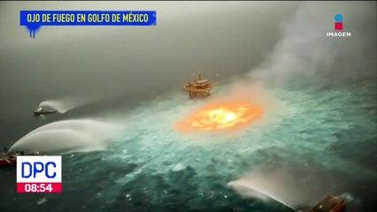 Ojo de fuego en el Golfo de México, provoca daños irreversibles