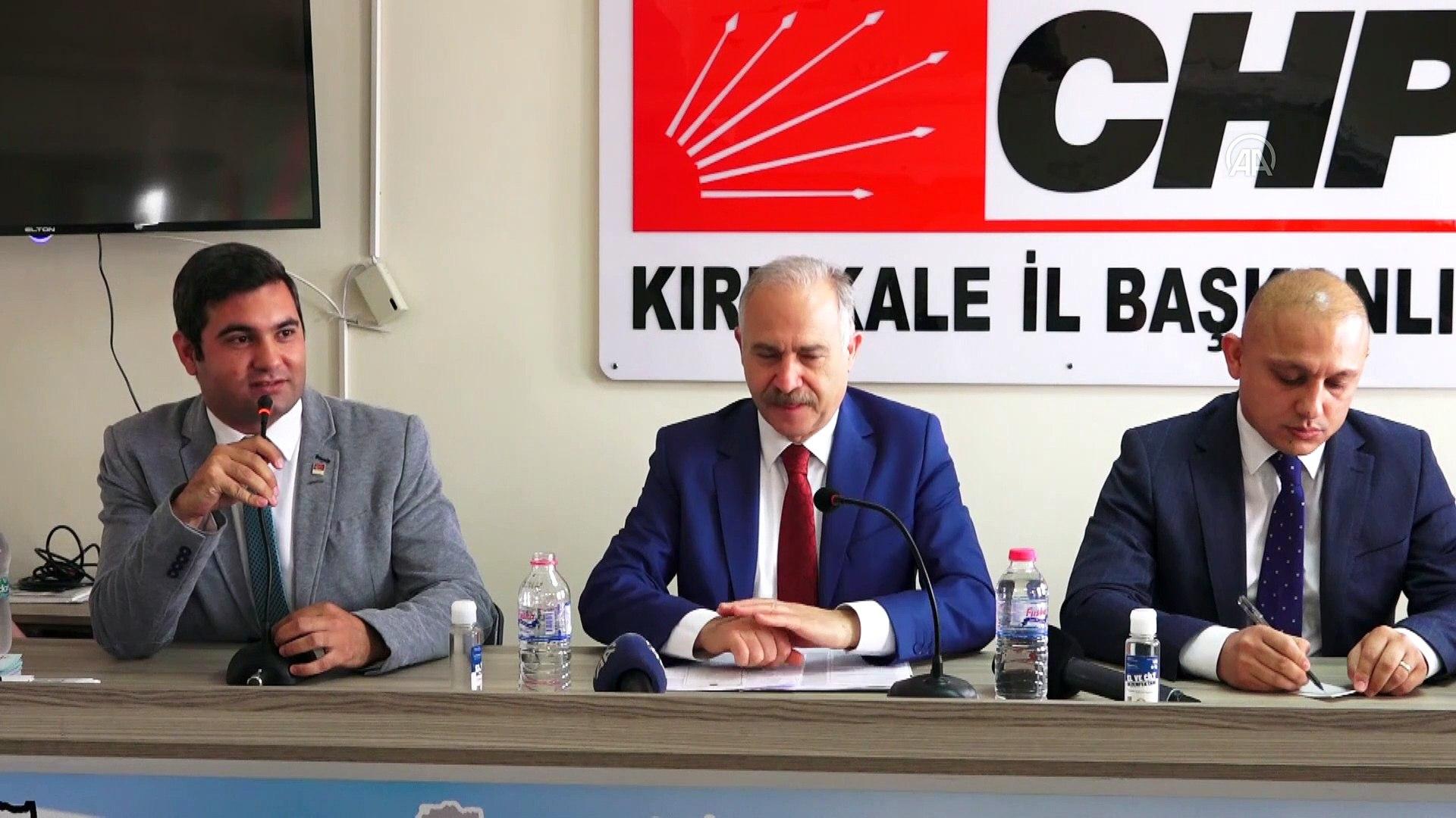 KIRIKKALE - CHP Milletvekili Levent Gök, Makine ve Kimya Endüstrisi Anonim Şirketi kurulmasını değer