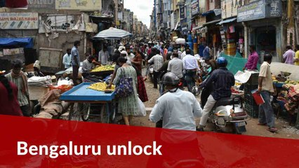 Malls, markets open in Bengaluru, traffic jams are back