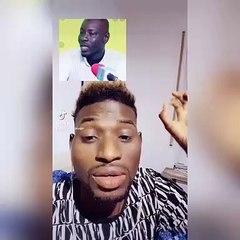 """Adamo attaque Karim Krum Xakk aprés sa sortie sur Wally et fait de graves révélations """"Mogates moko may..."""" (vidéo)"""