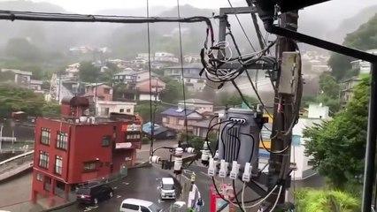 Coulée de boue meurtrière à Atami (Japon)