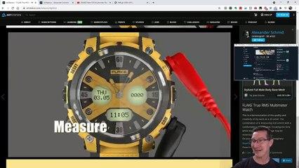 eevBLAB 87 - Flake Multimeter Watch!