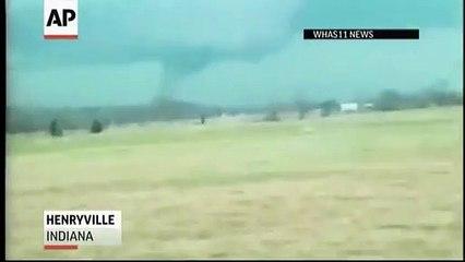 TEXAS TORNADO FEST - July 6, 2021 Raw Video - Tornado Hits School Bus
