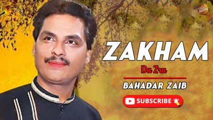 Zakham Da Zra By Bahadar Zaib   Pashto New Song   Spice Media