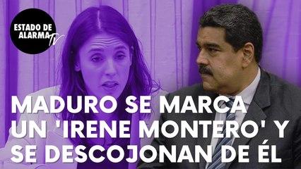 """El dictador Nicolás Maduro se marca un 'Irene Montero' y las redes se descojonan de él: """"Todes"""""""