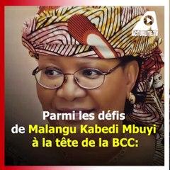 Malangu a travaillé pendant 32 ans au FMI où elle a occupé notamment les fonctions de représentant résident au Bénin et au Cameroun