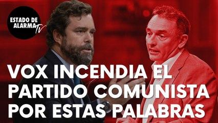 """Vox incendia el Partido Comunista tras estas palabras sobre su líder Enrique Santiago: """"Bienvenido"""""""