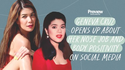 Geneva Cruz Opens Up About Getting a Nose Job at 16 and Body Positivity on Social Media   Preview Exclusive