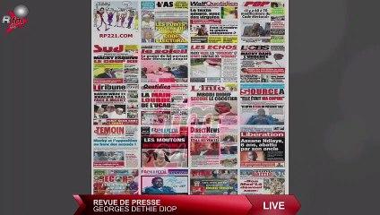 Revue de presse (français) Rfm du mardi 06 juillet 2021 avec Georges Dethie Diop