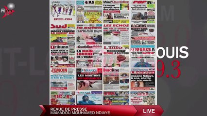 Revue de presse (wolof) Rfm du mardi 06 juillet 2021 avec Mamadou Mouhamed Ndiaye