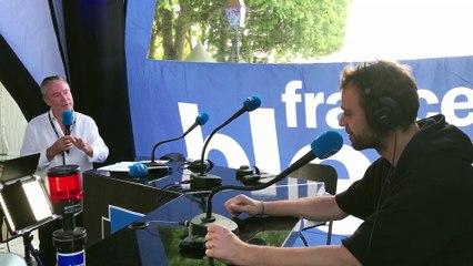 Cyril Mokaiesh en direct sur France Bleu Hérault, les Nuits du Peyrou