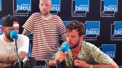 Claudio Capéo en direct sur France Bleu Hérault, les Nuits du Peyrou