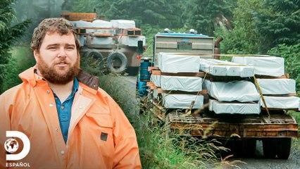 Camino maderero demora construcción de cabaña de Mark | Operación Alaska | Discovery En Español