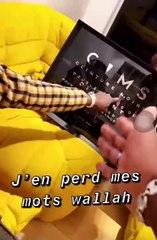Gims présente son troisième disque de diamant dans une vidéo délirante