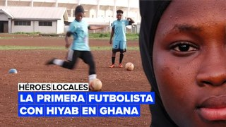 Sin límites: la futbolista del hiyab