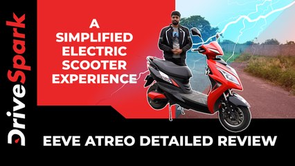 EeVe Atreo Review | Specs, Features, Performance, Range, Charging Time & Other Details