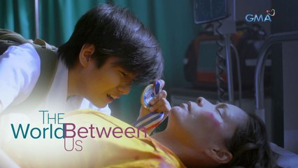 The World Between Us: Louie shows his medal to his late mother   Episode 2