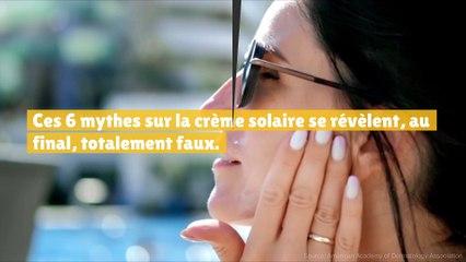 Ces mythes sur la crème solaire qui sont en fait faux